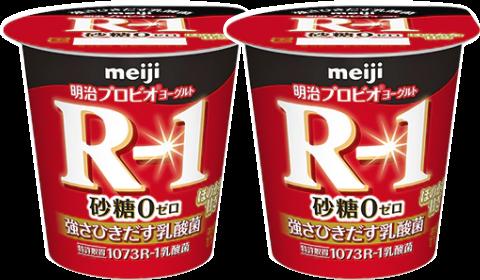 離乳食にR-1ヨーグルト