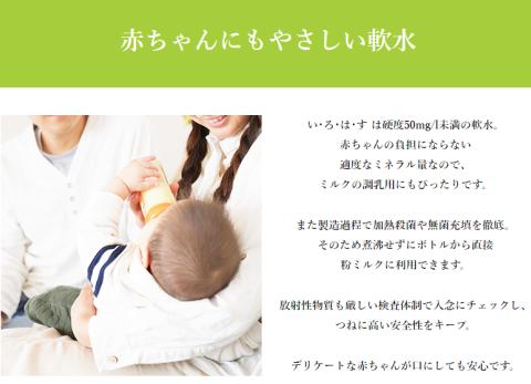 いろはすは赤ちゃんのミルクに使える?