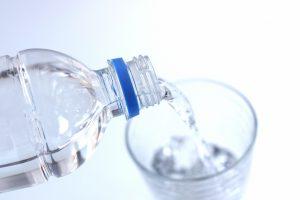 ミルクを作りに安心安全な水