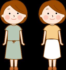 妊婦健診時の服装1
