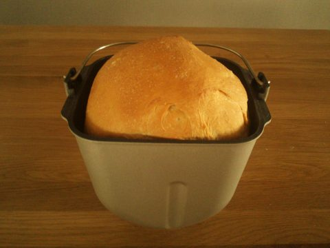 ホームベーカリーで食パンづくり7