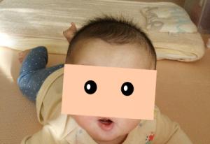 生後6ヶ月頃の髪の毛